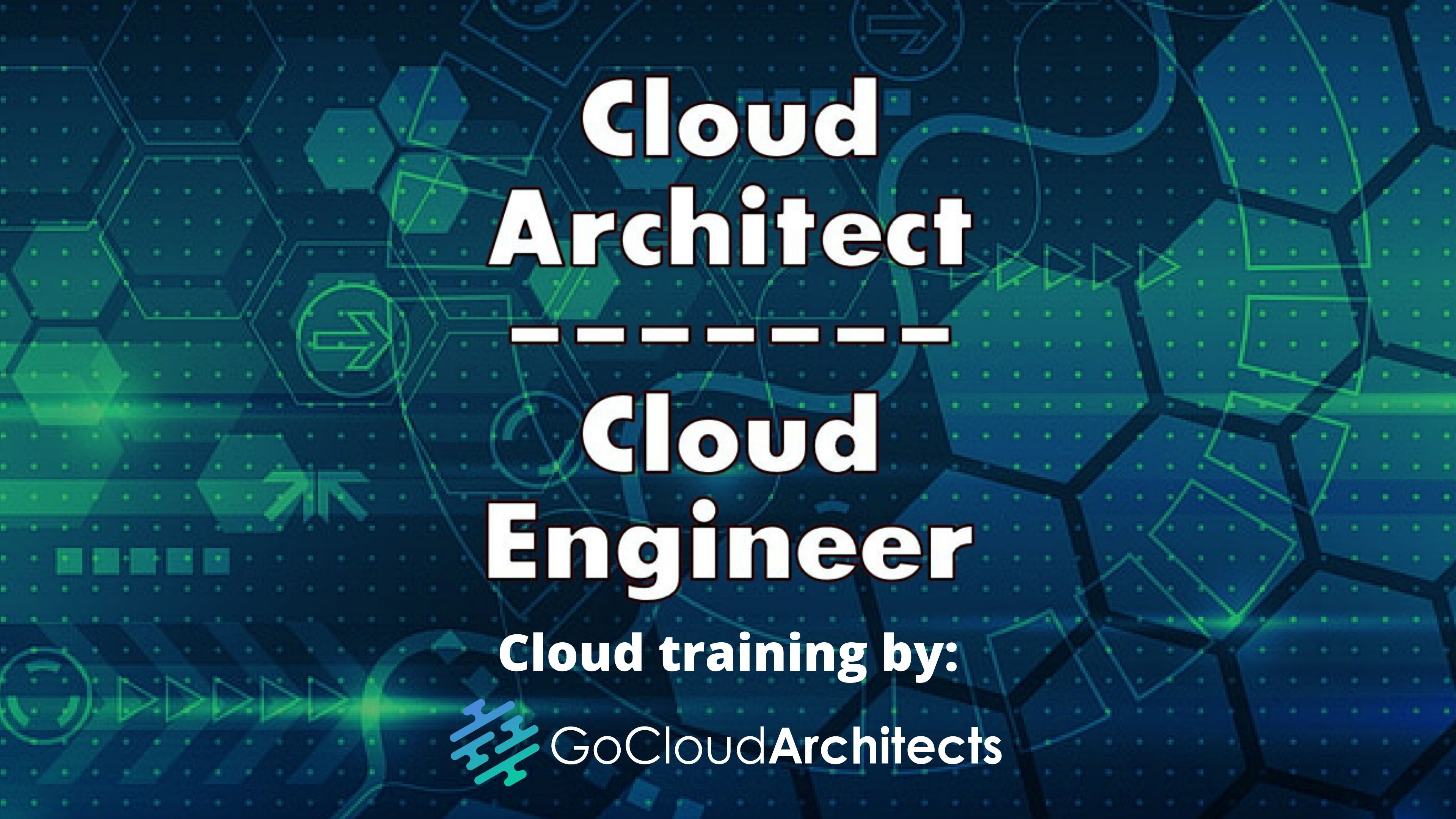cloud architect and cloud engineer