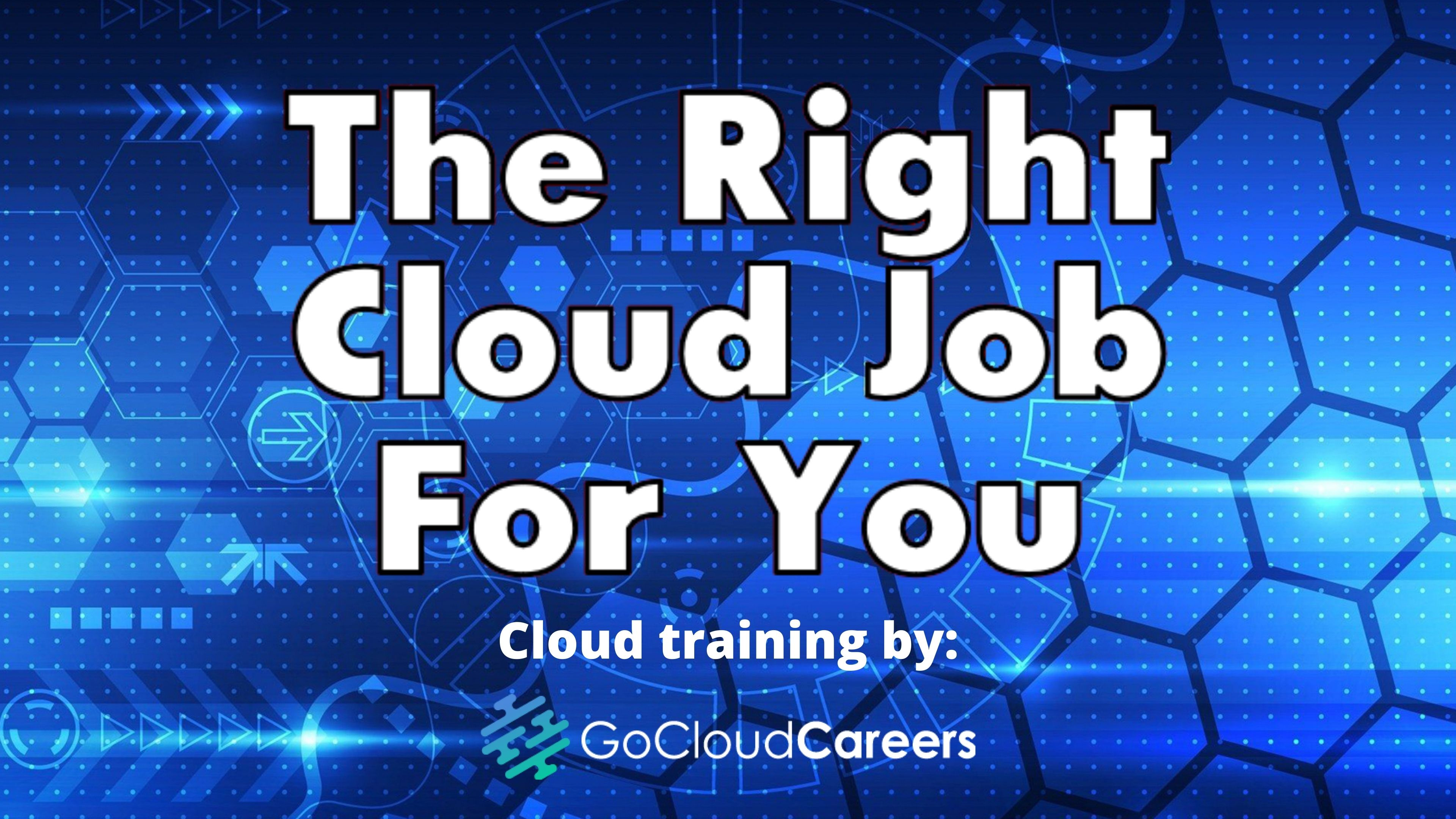 Find the Best Cloud Job for Your Personality Type