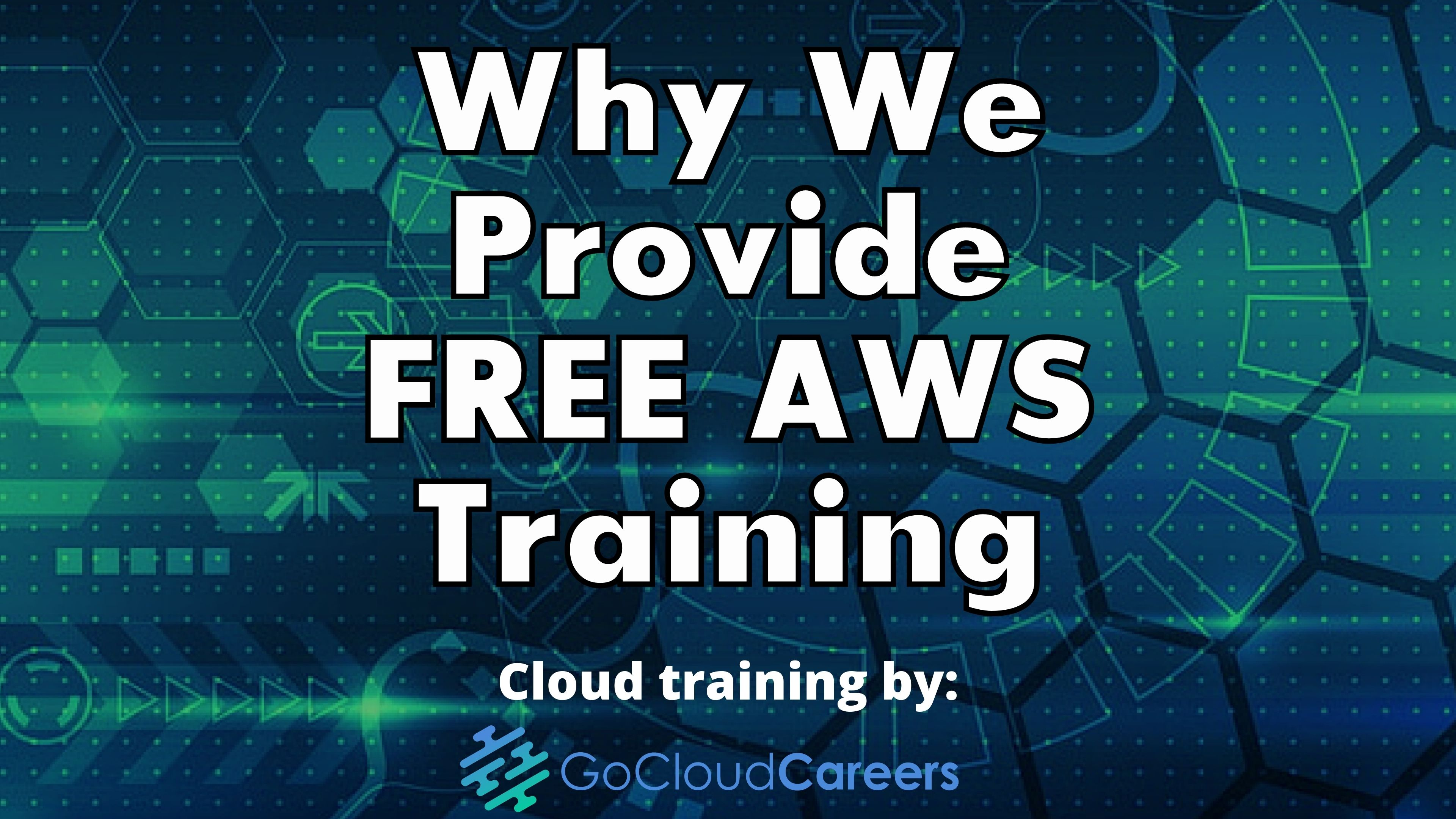 Why We Provide FREE AWS Training