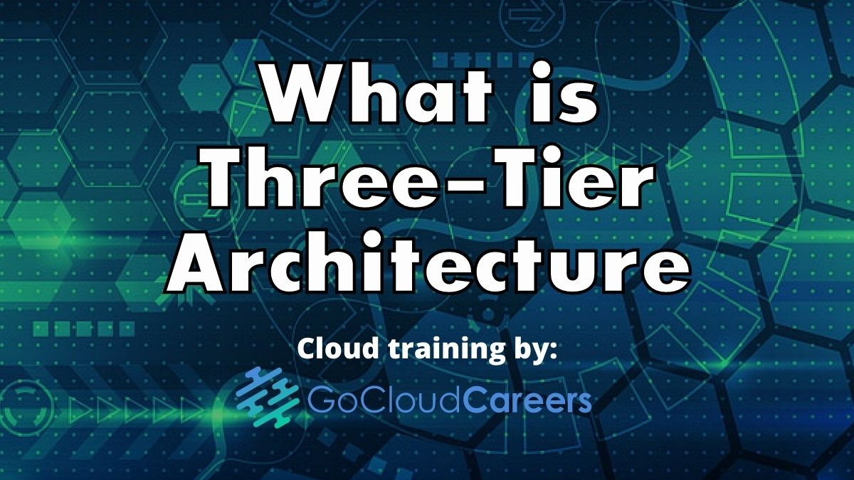 Cloud Architecture Fundamentals (What is a Three-Tier Architecture)